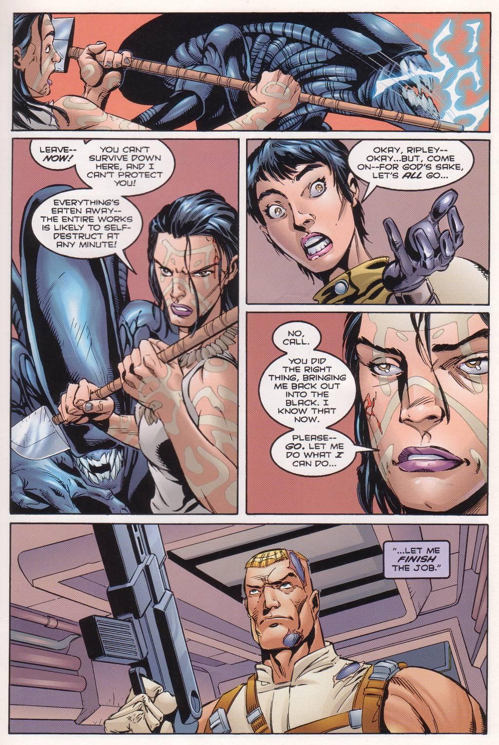 Бэтмен против Чужого?! Безумные комикс-кроссоверы сксеноморфами. - Изображение 27