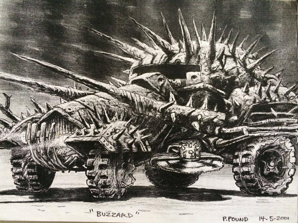 Галерея машин, кадров и постеров к «Безумному Максу: Дорога Ярости» - Изображение 29