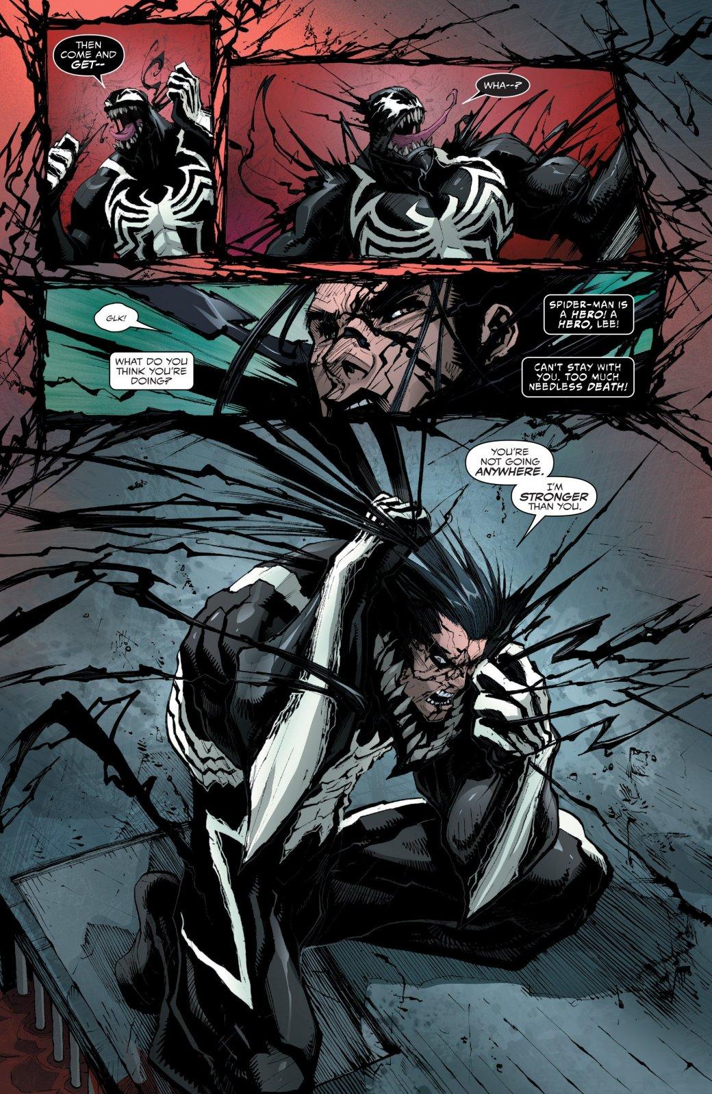 Новый номер «Венома» показывает самый тупой сюжетный поворот - Изображение 2