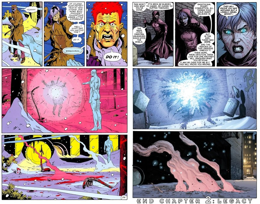 Где искать Хранителей в комиксах DC Rebirth?. - Изображение 4