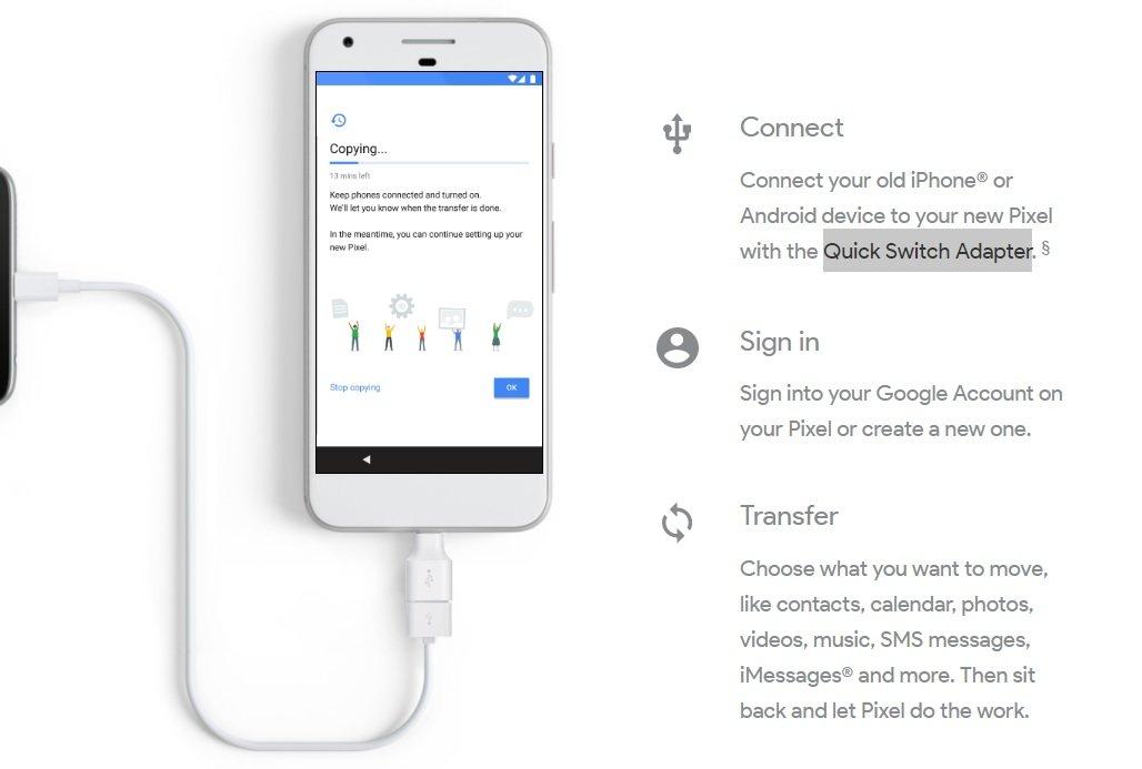 Google показала «реально синие» смартфоны Pixel иVR-шлем Daydream - Изображение 2