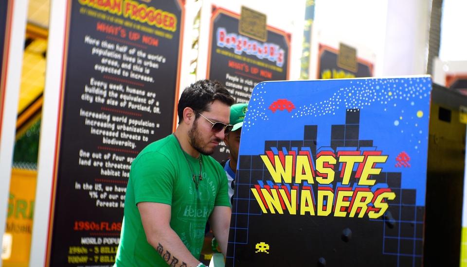 На фестивале в США установили экологичные игровые автоматы - Изображение 1