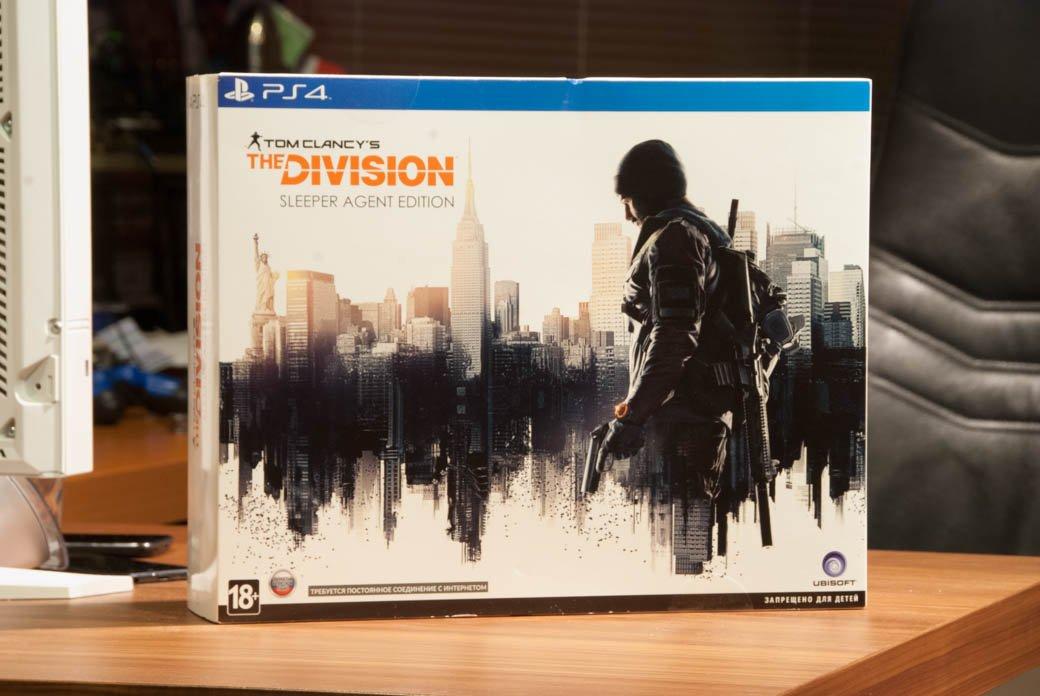 Распаковка коллекционного издания Tom Clancy's The Division - Изображение 1
