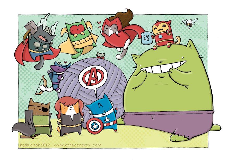 Галерея вариаций: Мстители-женщины, Мстители-дети... - Изображение 98