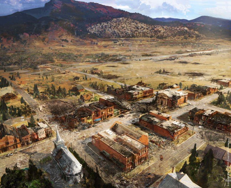 Прекрасные концепты Horizon: Zero Dawn отхудожников «Игры престолов» - Изображение 10