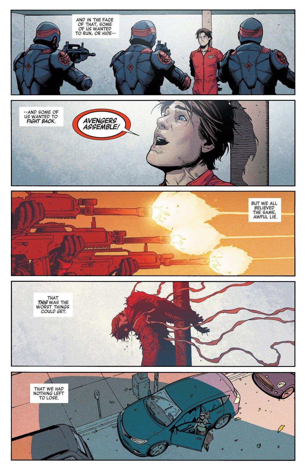 Пропаганда и концлагеря. Во что Гидра и Капитан Америка превратили США. - Изображение 21