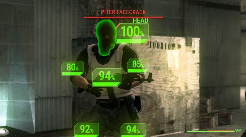 Как выглядел бы VATS в Counter-Strike - Изображение 1