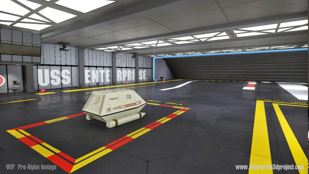 «Энтерпрайз» из Star Trek воссоздан с поддержкой Oculus VR. - Изображение 2