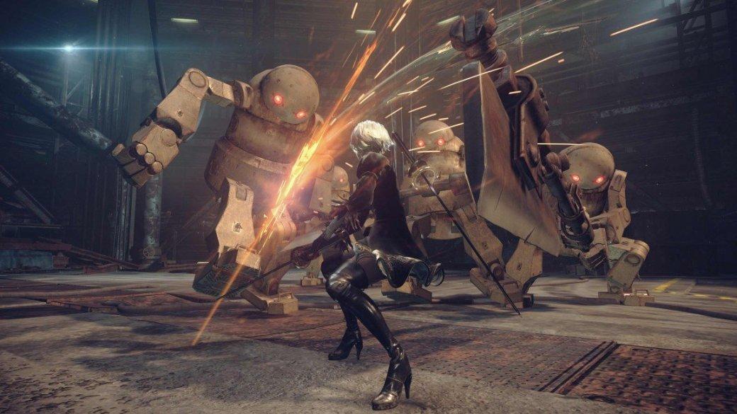 Кунгфу против роботов в новом трейлере Nier: Automata - Изображение 7