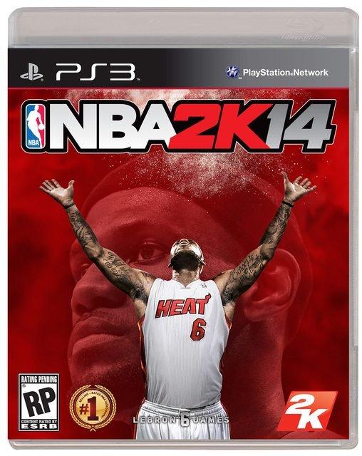 Леброн Джеймс стал лицом обложки NBA 2K14 . - Изображение 3