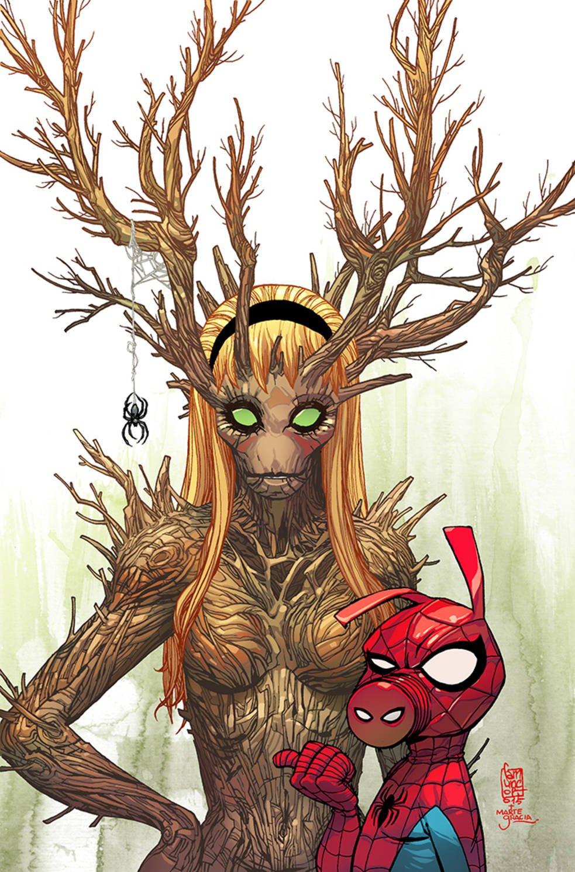 Комикс про Грута, деревянная Гвен Стейси и «муравьиные» обложки - Изображение 1