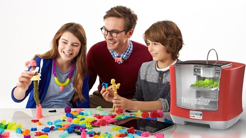 Недорогой 3D-принтер позволяет делать игрушки самостоятельно - Изображение 1
