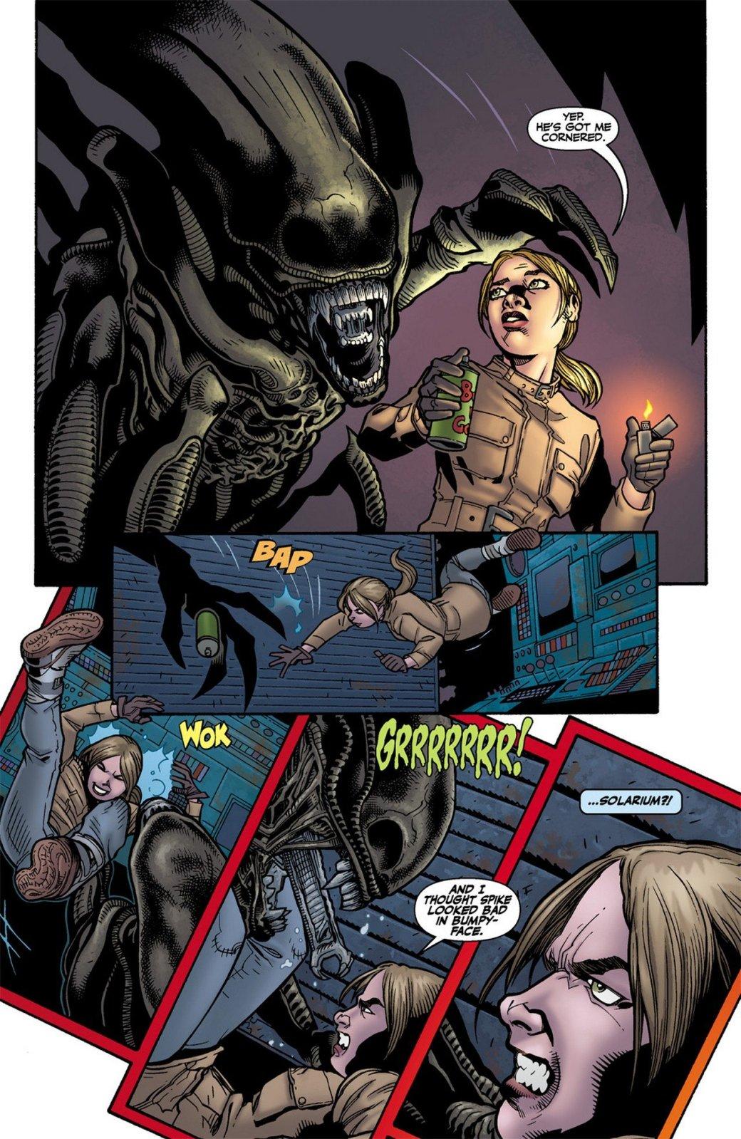 Бэтмен против Чужого?! Безумные комикс-кроссоверы сксеноморфами. - Изображение 33