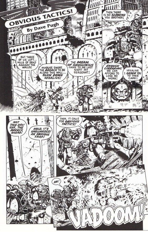 Самые крутые комиксы по Warhammer 40.000 - Изображение 6