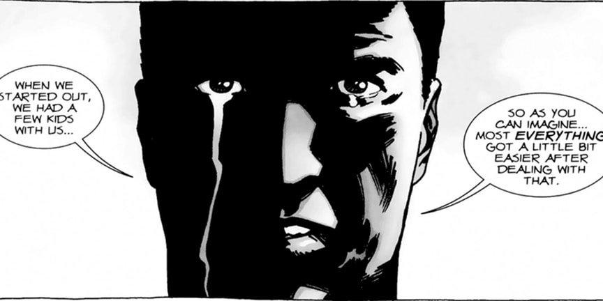 12 самых жестоких сцен в комиксе «Ходячие мертвецы». - Изображение 15