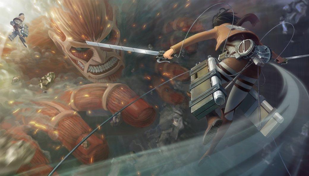 Японский релиз Attack on Titan состоится в феврале, второй трейлер - Изображение 1