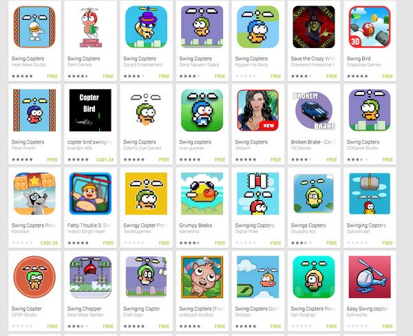 Новую игру автора Flappy Bird клонировали более 25 раз за два дня - Изображение 1