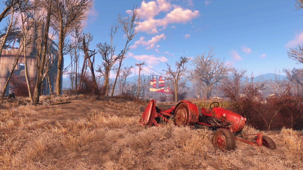 Женщина, собака и пулемет на борту в новом арте и скринах Fallout 4 - Изображение 16