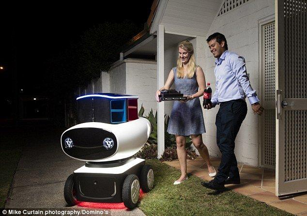 В Новой Зеландии пиццу развозят роботы - Изображение 1