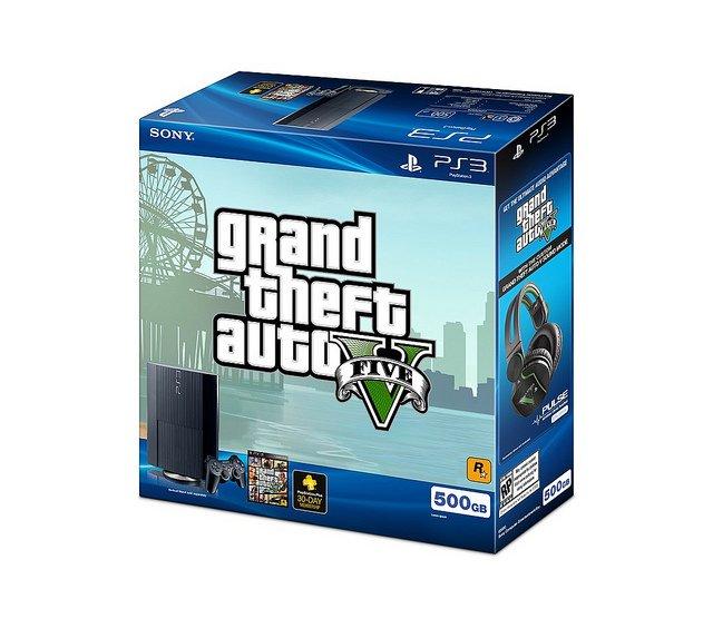 Стали известны подробности бандла PlayStation 3 + GTA 5 - Изображение 1