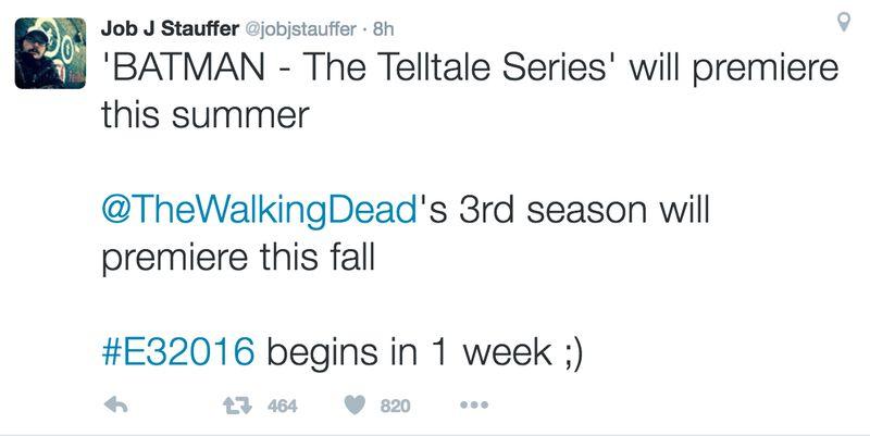 Telltale пообещала выпустить Batman уже этим летом - Изображение 1