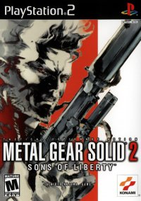 Metal Gear Solid 2: Sons of Liberty – фото обложки игры