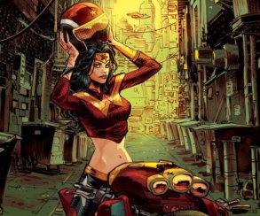 Вновом комиксе Бэтмен будет держать встрахе постапокалиптичный Готэм