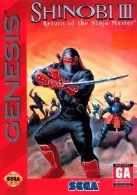 Shinobi III: Return of the Ninja Master