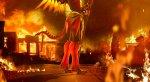 Дьяволица Ангел вогненном косплее поOverwatch. - Изображение 7