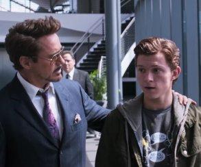 Кого Тони Старк вербовал вместо Питера Паркера в черновике фильма «Первый Мститель: Противостояние»?