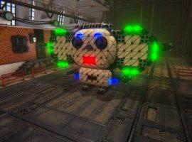 Создай собственную боевую машину в виде Чебурашки и победи всех врагов в SteamCraft!