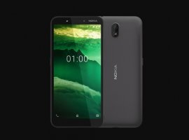 HMD Global представила новый смартфон Nokia C1 поцене 3800 рублей
