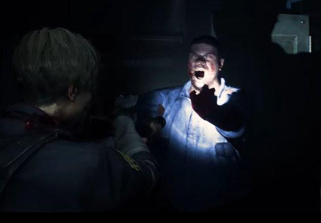 Resident Evil 2 Remake. Официальная запись геймплея