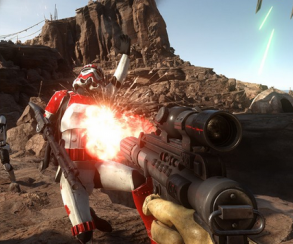 Первые кадры PC-версии Star Wars Battlefront