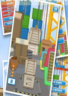Cargo Stacker - A Freight Forward Container Adventure