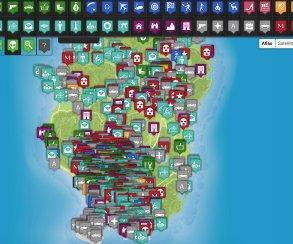 Лучшая интерактивная карта для Grand Theft Auto V