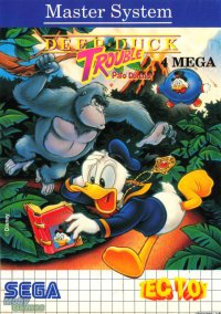 Deep Duck Trouble Starring Donald Duck – фото обложки игры