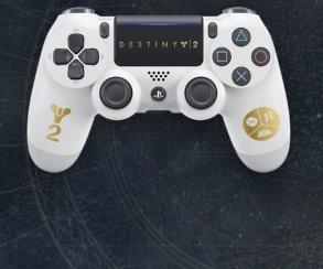 Sony показала лимитированные DualShock 4 поDestiny2. Вышло так себе