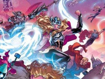 Как ипочему Джейн Фостер стала новым Тором настраницах комиксов Marvel?