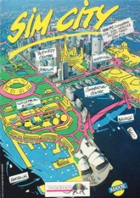 SimCity (1989) – фото обложки игры