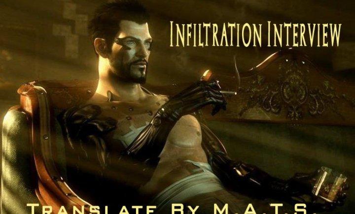 Deus Ex: Human Revolution - Infiltration Interview [RUS]