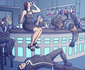 Happy N7 Day! Фанаты траурно отмечают день Mass Effect