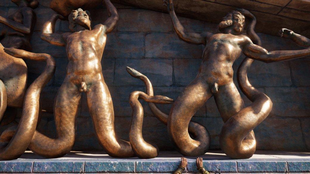 Журналист PCGamer составил топ пенисов изAssassin's Creed Odyssey— речь, конечно, остатуях | Канобу - Изображение 6
