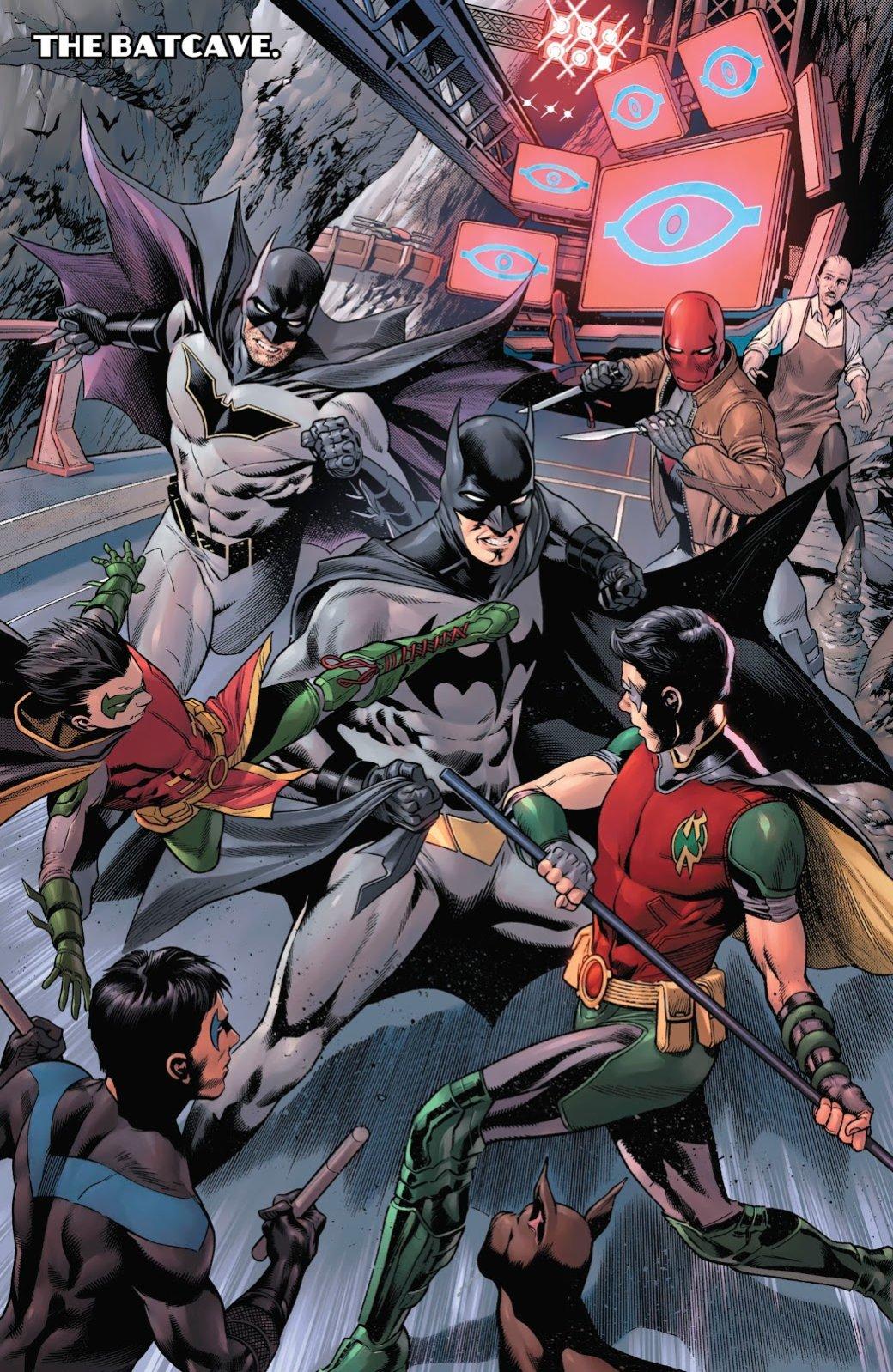 Бэтмен будущего, данетот: как два Тима Дрейка встретились настраницах комикса DC. - Изображение 12