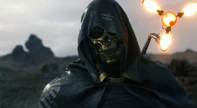 Новый ролик Death Stranding целиком посвящен Человеку взолотой маске. Озвучил его Трой Бейкер | Канобу - Изображение 1