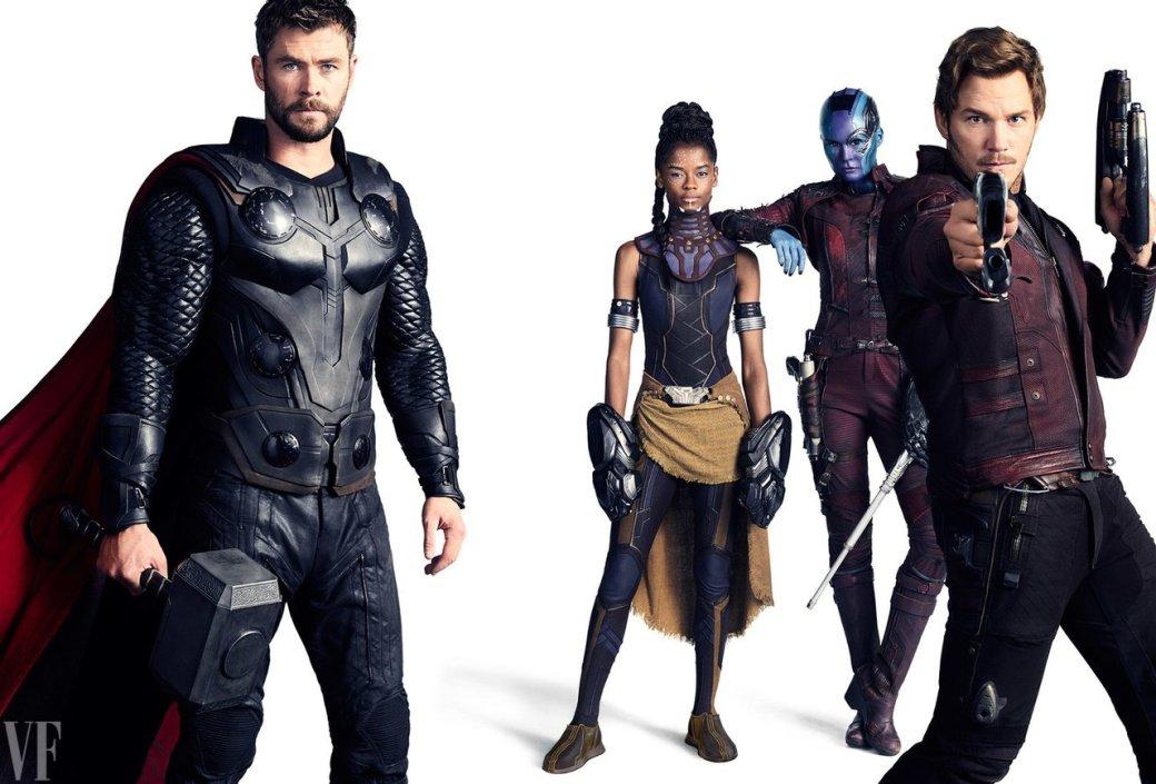 Героично: вжурнале Vanity Fair показали новые фото персонажей «Войны бесконечности» | Канобу - Изображение 418