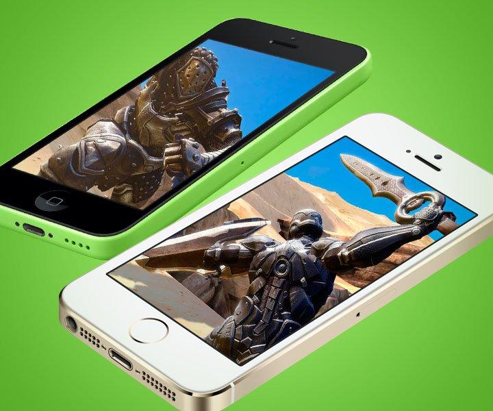 Яблоко раздора: iPhone 5C против iPhone 5S в видеоиграх | Канобу
