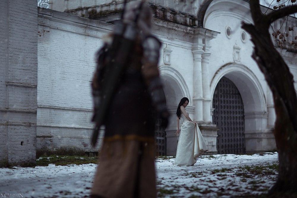 Геральт ибрукса вновом чудесном косплее по«Ведьмаку». - Изображение 5