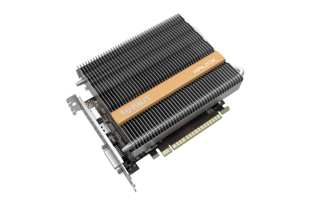 Palit анонсировала GeForce GTX 1050 Ti с пассивным охлаждением | Канобу - Изображение 9008