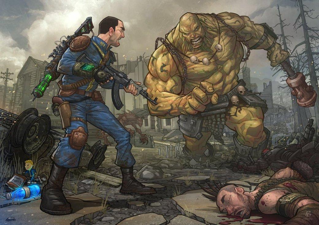 Лучший арт мира Fallout | Канобу - Изображение 67